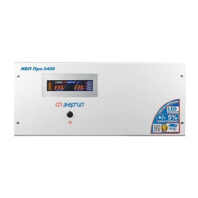 Интерактивный ИБП Энергия Pro-3400